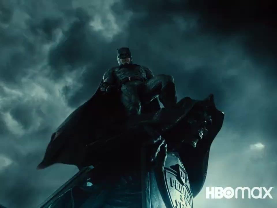 Justice League Shot, Batman on gargoyle
