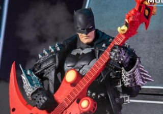 death metal batman action figure