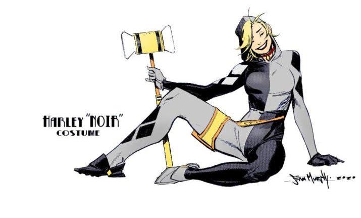 Harley Quinn Noir Costume